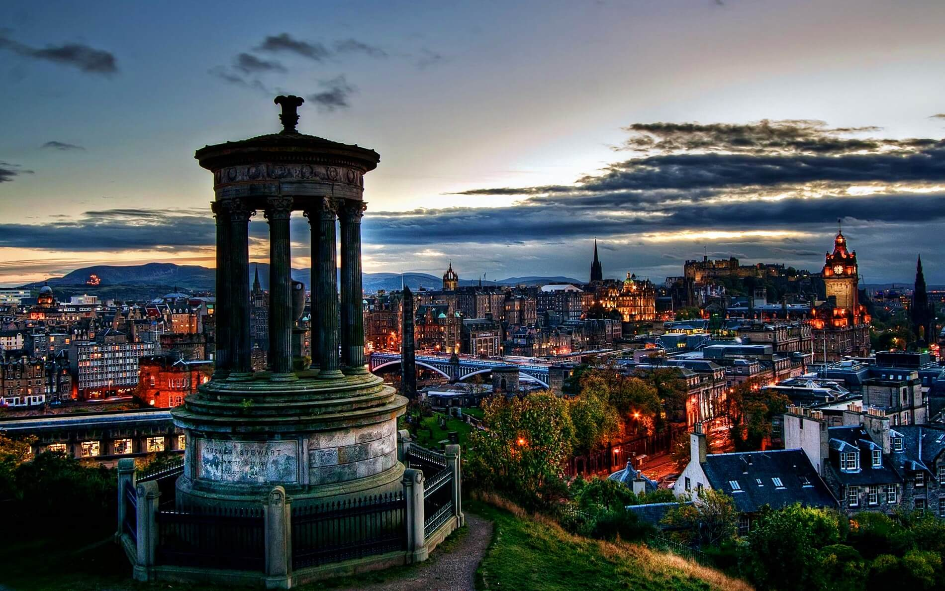 Edinburgh - City View