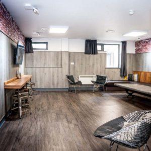 Euro Hostel Glasgow VIP Suite 10 Person Lounge