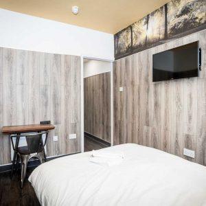 Euro Hostel Glasgow Superior Double Room