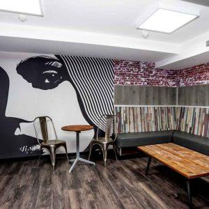 Euro Hostel Liverpool Bunkalow VIP Lounge