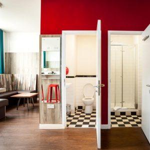 Euro Hostel Liverpool Mini-Suite Lounge