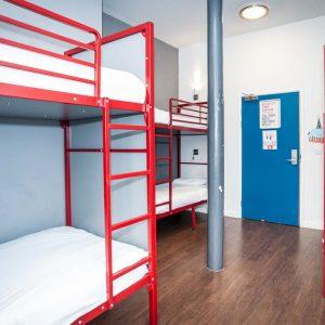Euro Hostel Liverpool – 6 Person Dorm