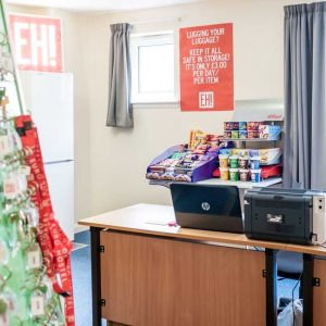 Euro Hostel Edinburgh Halls Reception